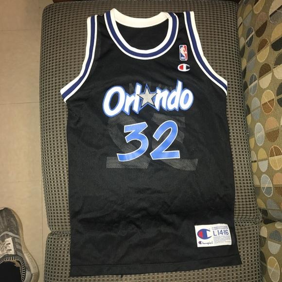 f94142ea3 Champion Other - Shaquille O Neil Shaq Orlando Magic NBA Jersey